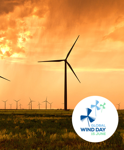 Winner of the Visionary Wind Award at the Global Wind Day 2018.